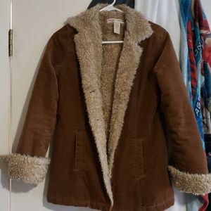 Abercrombie and fitch teddy bear jacket